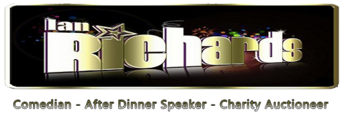 Ian Richards – Comedian, After Dinner Speaker, Charity Auctioneer